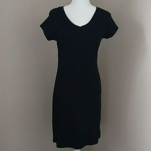 Newport News Black t-shirt Dress short sleeved